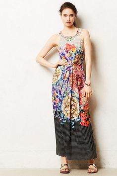 Arnala Maxi Dress #anthropologie