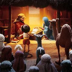The Little Drummer Boy.poor dad I bawled my little eyes out when we watched it when I was little Christmas Tv Shows, Christmas Time Is Here, Christmas Cartoons, Christmas Characters, The Little Drummer Boy, Christmas Program, O Holy Night, Film D'animation, Christmas Graphics