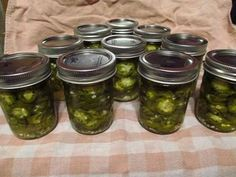 Hot Peppers - Ball® Recipes Canned Jalapeno recipe Canning Jalapeno Peppers, Pickled Hot Peppers, Canned Jalapenos, Pickling Jalapenos, Hot Pepper Recipes, Jalapeno Recipes, Veggie Recipes, Yummy Recipes, Stuffed Banana Peppers