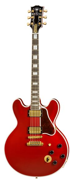Gibson Custom - BB King Lucille Limited - Ruby