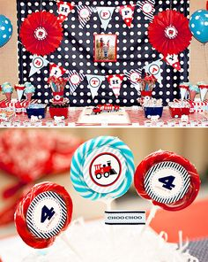 Train birthday party-from one of my favorite party resources: hostess with the mostess