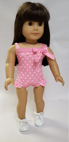 For 18 Inch American Girl Doll Clothes Accessories Handmade Doll Swimming suit