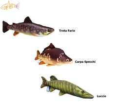 Cuscino Realistico Riproduzione Pesce Gaby