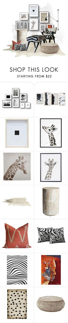 """""""Animal Prints"""" by jill-bh ❤ liked on Polyvore featuring interior, interiors, interior design, home, home decor, interior decorating, Jonathan Adler, Graham & Brown, Studio A and Oxford"""