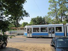 Tram Debrecen, juni 2012    Magyarország;  Hungary;  Ungarn;  villamos Hungary, City, World, Cities, The World