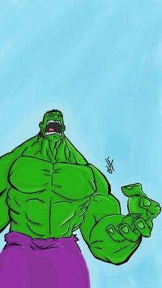 #Hulk #Fan #Art. (Hulk) By: FelipeMartin7. ÅWESOMENESS!!!™ ÅÅÅ+