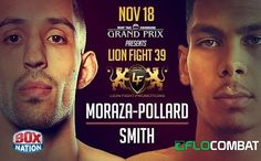 """It was a great day of #fights at Lion Fight Promotions #LF39. Check out the results! . .  #Cruiserweight Chip """"The Surgeon"""" Moraza-Pollard @ChipTheSurgeon retained his title and added the #MTGP title with his defeat of challenger #JordanSmith by unanimous decision.  MTGP super #featherweight champ #JoseVarela @jose.pitbull.varela defeated #AmineBallafrikh   #LHW champ #JamesBenal @james_benal took the W by unanimous decision over #RyanLi.  Evan Jays @evan_jays also got a unanimous decision W…"""