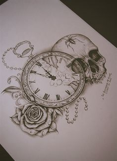 "Image of C x I x D ""Skull / Pocket Watch"""