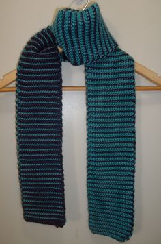 Reversable scarf // Two tone // Multipule by ElyshasCreations
