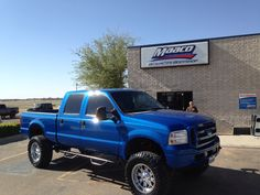 Ford truck painted at MAACO Lubbock TX.