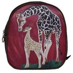 Giraffe Purse Backpack by Salvador Kitti  Support by SalvadorKitti,