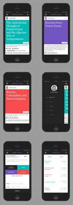 Knowledge App on App Design Served