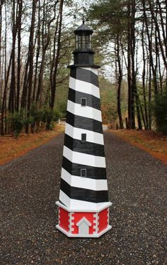Plans to build a Cape Hatteras Lawn Lighthouse