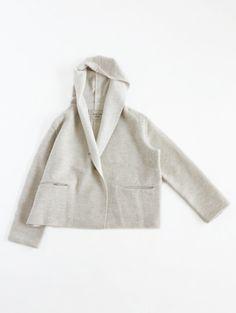 short wool coat:evameva