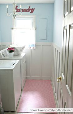 10 Laundry Room Ideas | Fun Home Things