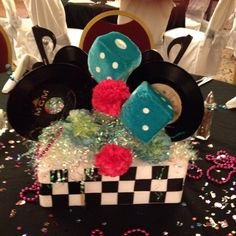 50's Theme Centerpiece