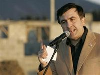 President Mikheil Saakashvili sees many parallels between the current situation in Crimea and his own war with Vladimir Putin in 2008, when the Russian premier whittled away at Georgia's breakaway provinces of Abkhazia and South Ossetia. In a column for The Guardian, Saakashvili warns the West that Putin will not stop in Ukraine.