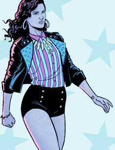 America Chavez and Her Star-Spangled Wardrobe