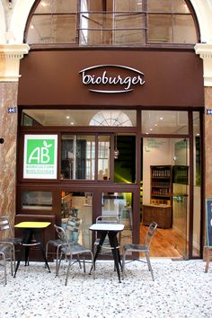 Bioburger, first french fast food bio