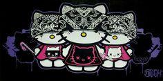 Hola Cholas #HelloKitty #kitty #obsessed #chola #lol #cute #scary #funny