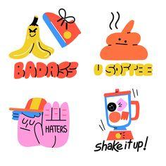 illust on Behance Line Illustration, Digital Illustration, Graphic Design Posters, Graphic Design Inspiration, Graphisches Design, Cover Design, Snapchat Stickers, Fun At Work, Cute Stickers