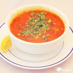 """Soupe Chorba """"Chez Jaafar"""" (75005) Tunisien"""
