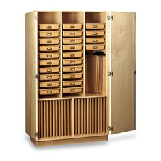 Tote Tray Storage Cabinet | Art Room Ideas | Pinterest | Storage ...