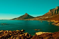 The other side of Lions head The Other Side, Cape Town, Lions, Mountains, Water, Travel, Outdoor, Water Water, Lion