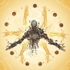 Zenyatta- 21 days of Overwatch! by ChasingArtwork I was commissioned to illustrate a character from their upcoming game Overwatch. Was a pretty cool project to be involved in I was thrilled to have the chance to tackle the coolest robot in the...