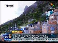 Río de Janeiro vive segregación de clase por especulación inmobiliaria