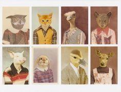 Animal school pictures.