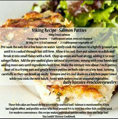 Viking Recipe - Salmon Patties