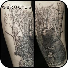 Brucius tattoo artist. In San Francisco. $500/hour!