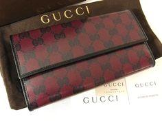9863b0b6526 Rakuten  Gucci GUCCI new article GG three fold long wallet  381.47