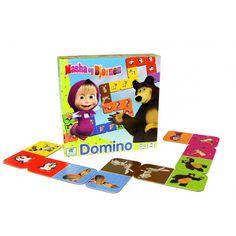 masha og bjørnen domino/ Barbo Toys - Masha and the Bear toy line for the Nordic Market.