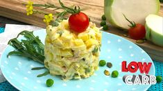 Low Carb Diet, Lchf, Lowes, Risotto, Potato Salad, Pineapple, Fruit, Vegetables, Cooking
