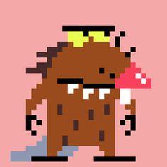Nickelodeon ShowsPixel Artist: Ivan Dixon Source: pug-of-war.tumblr.com •…