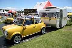 Mini Cooper Caravan #MINI #MiniCooper #Rvinyl ============================= http://www.rvinyl.com/MINI-Accessories.html