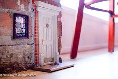 Urban Fairies,  fairy doors of Ann Arbor  Check out all of the Fairie Doors in Ann Arbor, Michigan