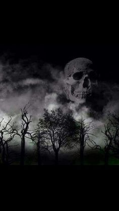 Skull in the Clouds