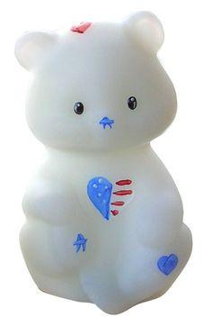 Fenton Art Glass Patriotic Bear