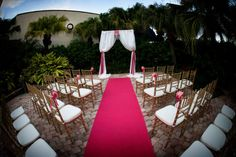 Limelight Photography - Tampa Marriott Westshore, Florida Wedding, Pink and Fuchsia wedding details