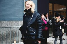 New_York_Fashion_Week-Street_Style-Fall_Winter-2015-Acne_Velocite_Jacket- by collagevintageblog, via Flickr