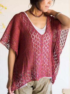 DanDoh Mirror Sweater Knitting Pattern