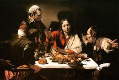 Michelangelo Caravaggio - Supper at Emmaus