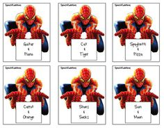Super Hero Speech from Speech Room News!  Great ideas to incorporate super heroes in speech and language practice! Includes printables!