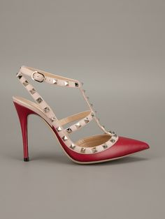 Valentino Garavani 'rockstud' Sandal - - Farfetch.com