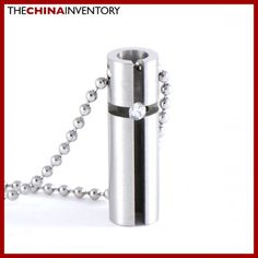 STAINLESS STEEL CROSS TUBE PENDANT NECKLACE P0604 Disney Jewelry, Crosses, Tube, Stainless Steel, Pendant Necklace, The Cross, Drop Necklace, Counted Cross Stitches