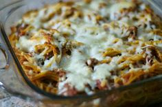 365 Days of Baking and More: Baked Spaghetti