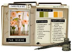 Case File No. 18 {Case Closes on May 13, 2012} - CSI: Color, Stories, Inspiration